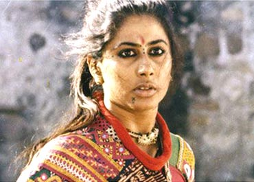 Smita Patil in Mirch Masala