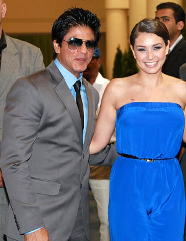 Shah Rukh Khan and Lisa Ray