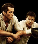 Christian Bale and Mark Wahlberg in The Fighter
