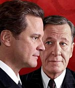 Colin Firth and Geoffrey Rush in King's Speech