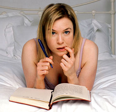 A scene from Bridget Jones Diaries
