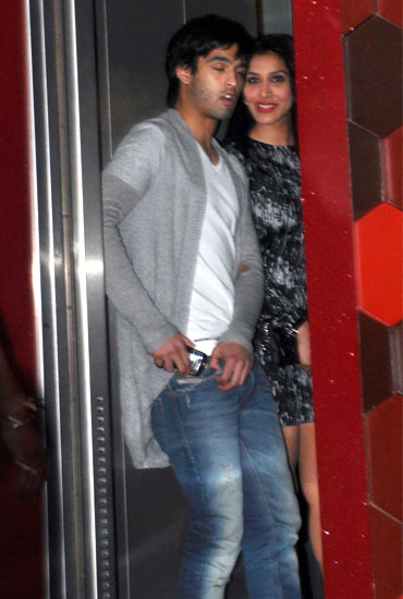 Siddharth Mallya and Sophie Chaudhary
