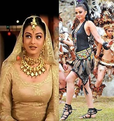 Aishwarya Rai Bachchan in Aur Pyar Ho Gaya and Endhiran