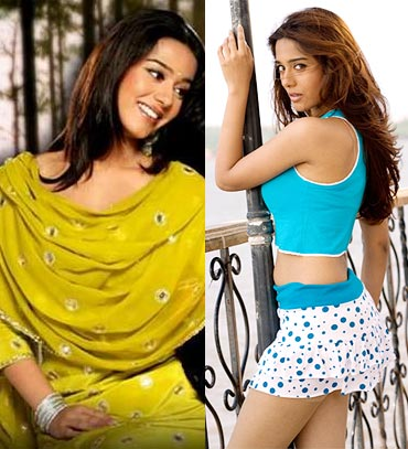 Amrita Rao in Ishq Vishk and My Name is Anthony Gonsalves