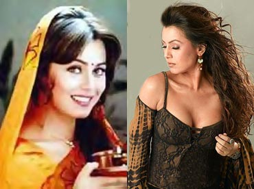 Mahima Chaudhry in Pardes and Gumnaam