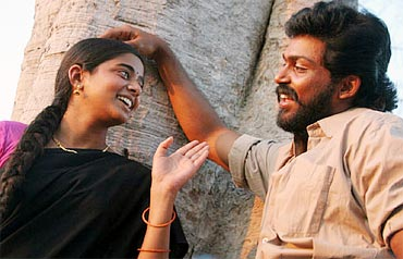 A scene from Paruthiveeran
