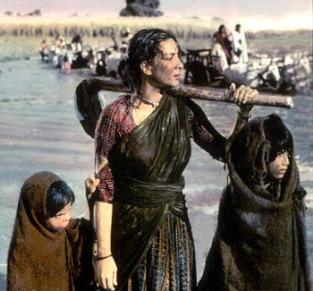 A scene from Mother India