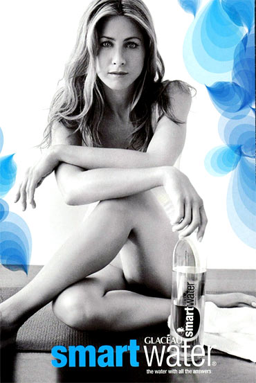Jennifer Aniston in Swart Water ad