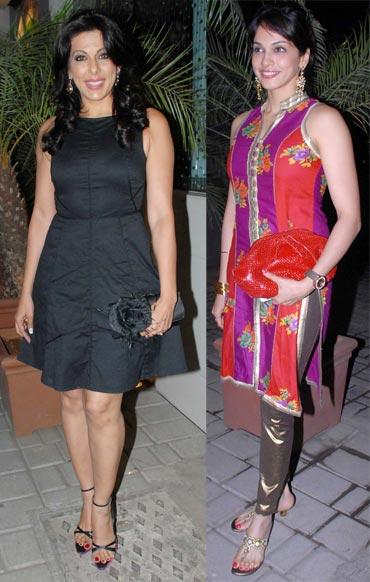 Pooja Bedi and Eesha Koppikar