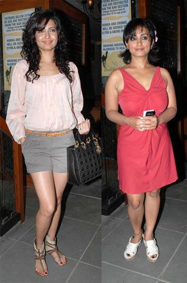 Karishma Tanna and Divya Dutta
