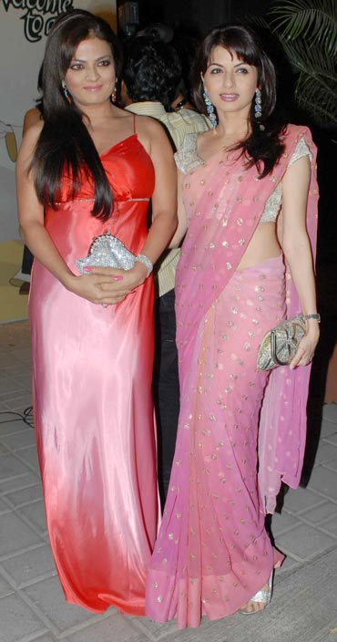 Sheeba and Bhagyashree