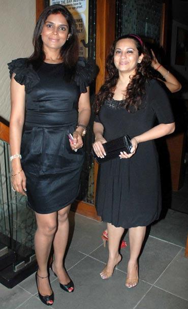 Neelam and Mansi Joshi Roy