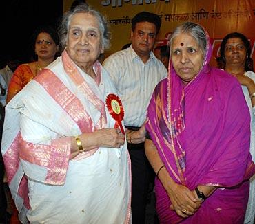 Sulochana Chavan and Sindhutai Sakpal