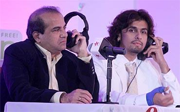 Sonu Nigam and Suresh Wadkar