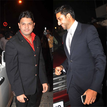 Bhushan Kumar and Abhishek Bachchan