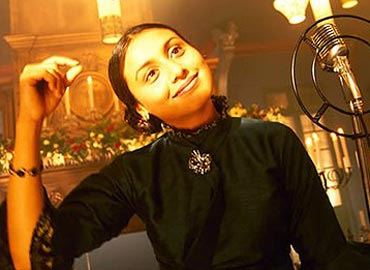 Rani Mukerji in Black