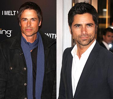 Rob Lowe and John Stamos