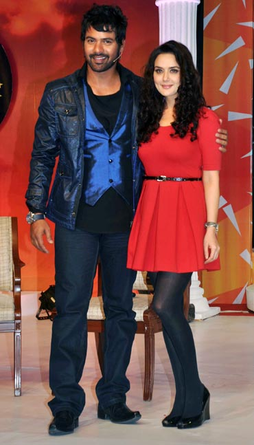 Shabbir Ahluwalia and Preity Zinta