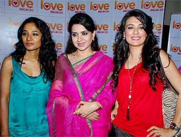 Tannishtha Chatterjee, Shaina NC and Mini Mathur