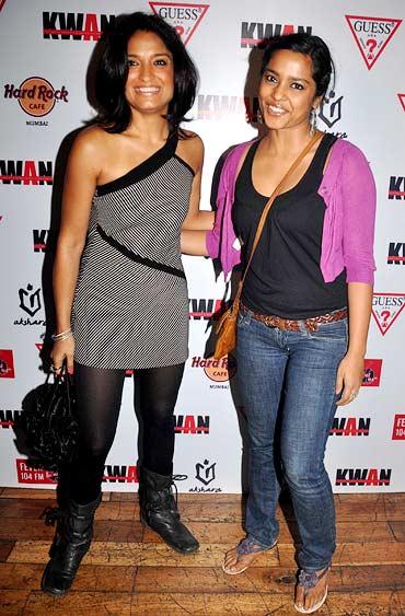Sandhya Mridul and Shahana Goswami