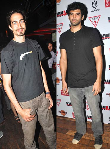 Adam Bedi and Aditya Roy Kapoor