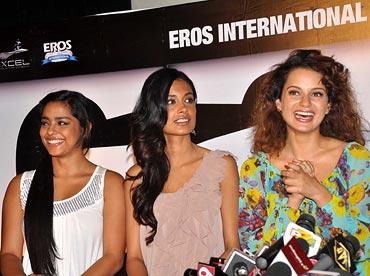 Shahana Goswami, Sarah Jane Dias and Kangna Ranaut