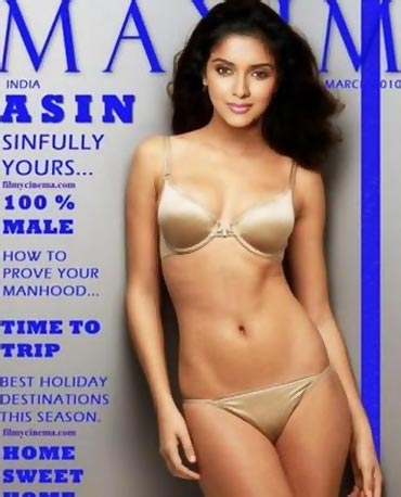 Maxim magazine has featured quite a few actresses in their sexiest