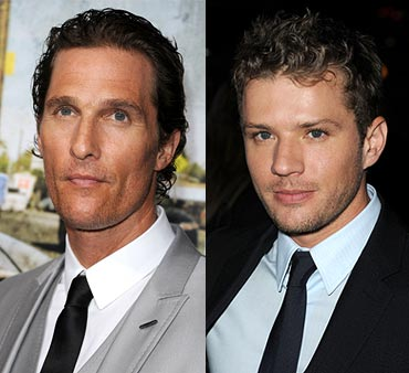 Matthew McConaughey and Ryan Phillipp