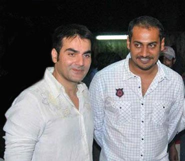 Arbaaz Khan and Abhinav Kashyap