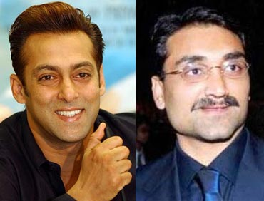 Salman Khan and Aditya Chopra