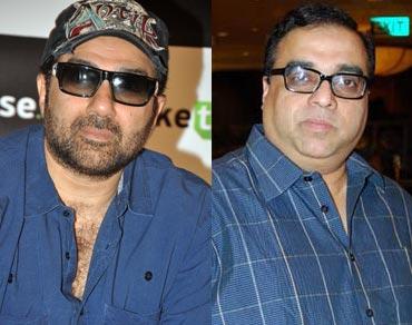 Sunny Deol and Rajkumar Santoshi
