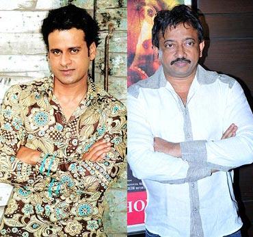 Manoj Bajpai and Ram Gopal Varma