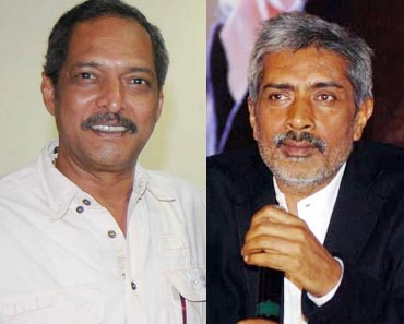 Nana Patekar and Prakash Jha