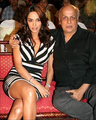 Mallika Sherawat and Mahesh Bhatt