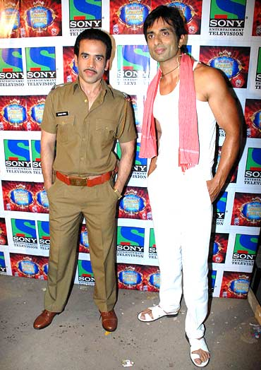 Tusshar Kapoor and Sonu Sood