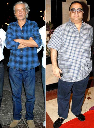 Sudhir Mishra and Rajkumar Santoshi