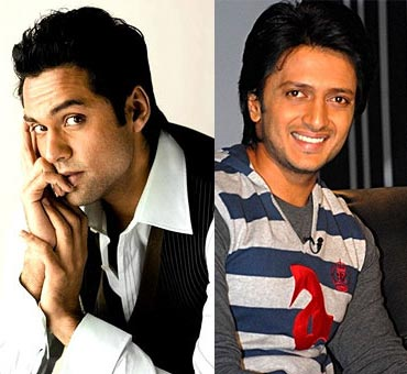 Abhay Deol and Riteish Deshmukh