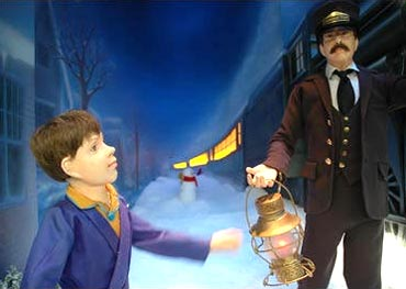 A scene from Polar Express