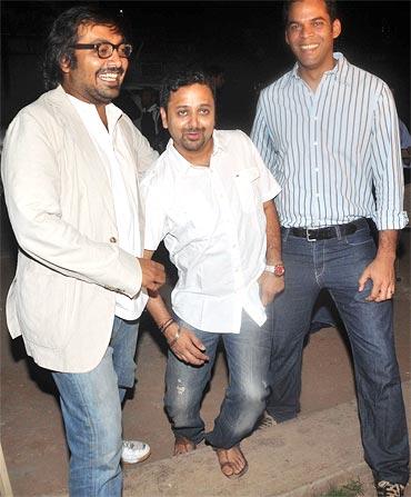 Anurag Kashyap, Nikhil Advani and Vikramaditya Motwane