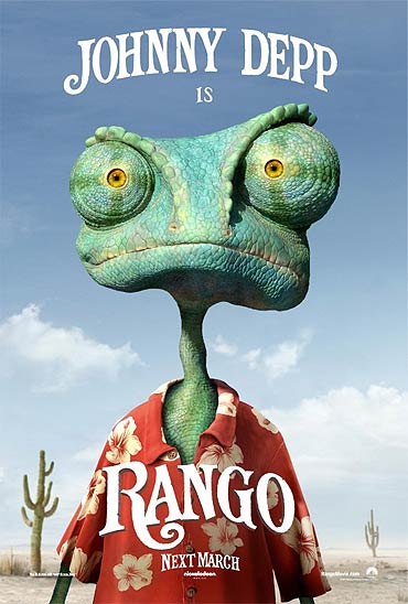 Movie poster of Rango
