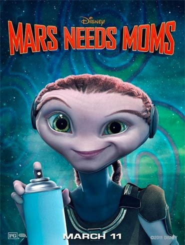 Movie poster of Mars Needs Mom