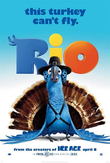 Movie  poster of Rio