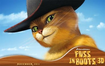 Movie poster of Puss In Boots