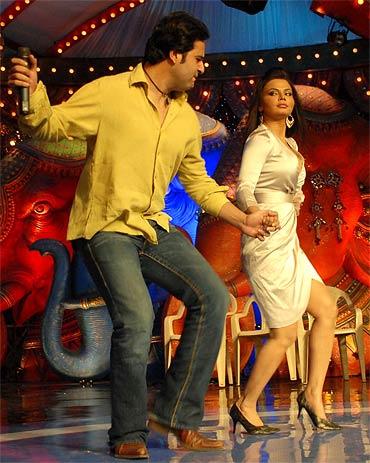 Krushna Abhishek and Rakhi Sawant