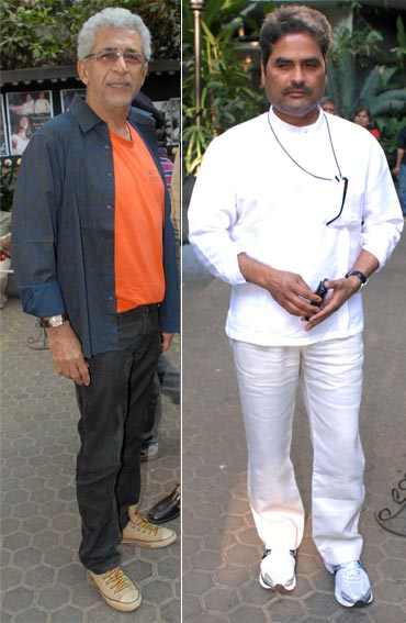 Naseeruddin Shah and Vishal Bhardwaj