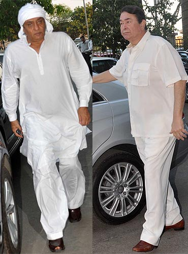 Ranjeet and Randhir Kapoor