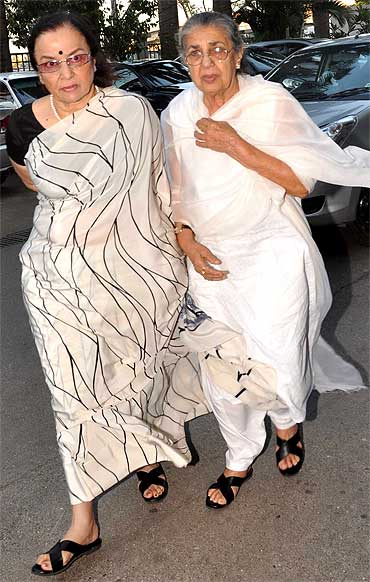 Asha Parekh and Shammi