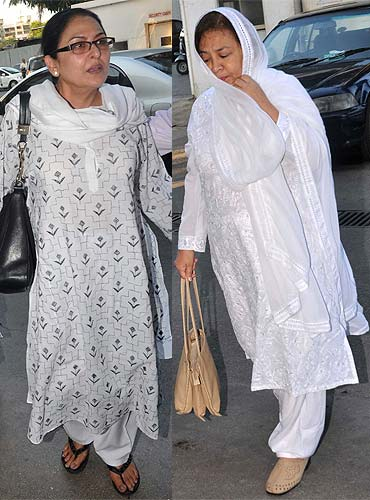 Anju Mahendru and Farida Jalal