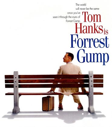 A poster of Forrest Gump