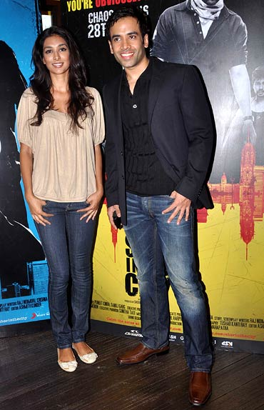 Preeti Desai and Tusshar Kapoor